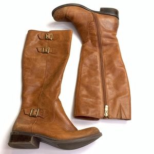 BCBGeneration Shoes - Bcbgeneration Knee High Boots Leather Brown Size 7